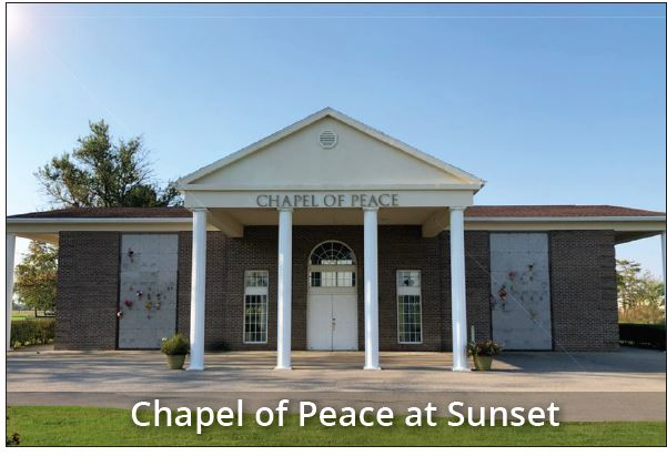 Chaple of Peace Funeral Service Graceland Valparaiso